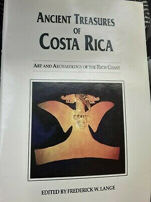 COSTA RICAN PRE-COLUMBIAN Art / HIstory / Archaeology Booklet, Nicoya +More