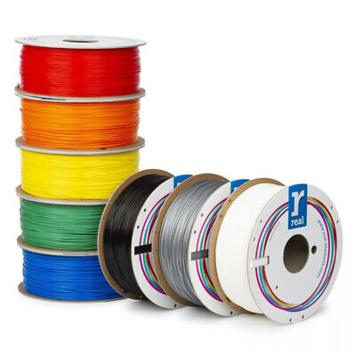 PLA REAL FILAMENTS 3D - 1,75 mm - Bobina 1 Kg - 750 - 500 - 100 - 50 gr