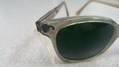 A.O. GREEN Weld/Safety Glasses. Buddy Holly style..N.O.S. Clear Side Shields