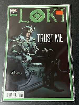 Marvel Comics Loki #1 Albuquerque 1:50 Variant 2019 CASE FRESH 1st Print NM