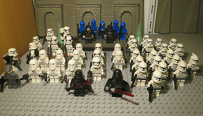 ( J6 / 1 ) LEGO STAR WARS FIGUREN COMMANDER STORM TROOPER DARTH VADER REX kg