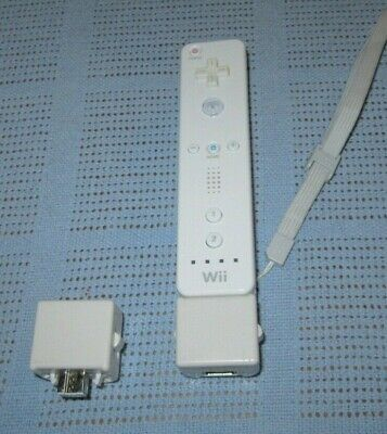 Wii Mote RVL 003 WHITE - Motion Controller - Remote - with 2 x MotionPlus