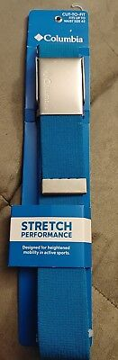 COLUMBIA~Men/'s Khaki Reversible Cut-to-Fit Stretch Performance Belt #11CO030006