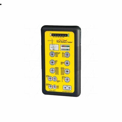 ZTS Battery Tester For Primary&Rechargeable Batteries /solid brass,nickel-plated