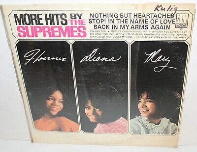 More Hits By The Supremes LP Vinyl Record Album Vintage Motown 627 1965