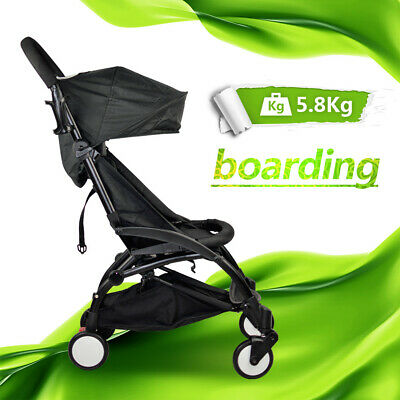 Compact Lightweight Baby Stroller Pram Easy Fold Carry on Plane Travel Jogger AU