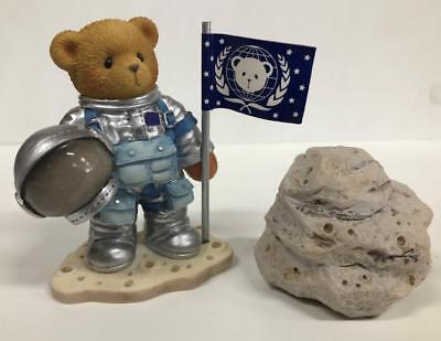 Cherished Teddies Neil Astronaut NEW With Box and Papers