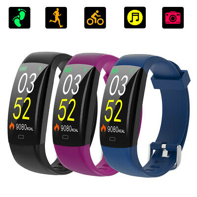 F64C Smart Watch For Android IOS Waterproof Heart Rate Monitor Pedometer Gift