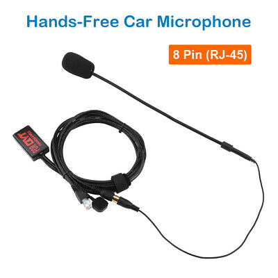 QYT Hands-Free Microphone Speaker For Yaesu Vehicle Car Radio Mobile Transceiver