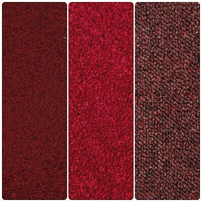 HARD WEARING RED CARPETS - Felt, Twist, Action, Saxony Price From: £6.50m²