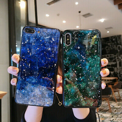 Marble Shockproof Silicone Protective Case Cover For iPhone 6 8 7 Plus XS Max XR