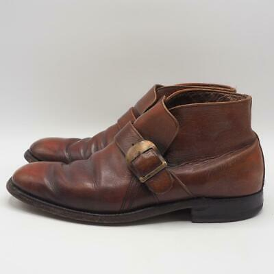 Vintage Leather Beatle Ankle Buckle Boot Men Size 8.5