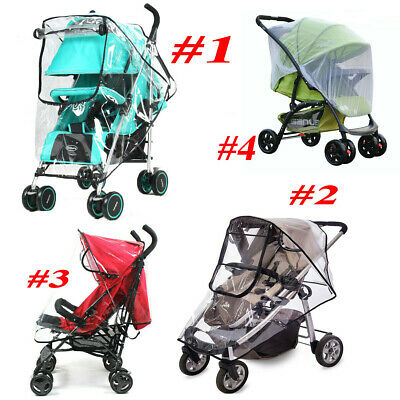 Baby Kids Pushchair Stroller Buggy Pram Rain Cover Mosquito Fly Insect Net Mesh
