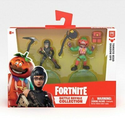 Fortnite Battle Royale Collection Tomato Head & Shadow Ops Duo Figure Pack*NEW*