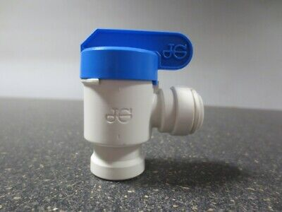 """Reverse Osmosis Tank Valve w 3/8"""" Quick-Connect Fitting PPSV501222W John Guest"""