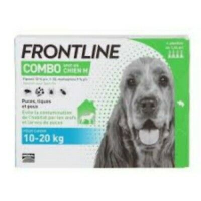 Frontline Combo Spot-On M Chien 10-20Kg 4 Pipettes