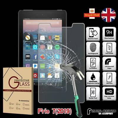 Tempered Glass Screen Protector For Amazon Fire 7 (9th Gen 2019) with alexa