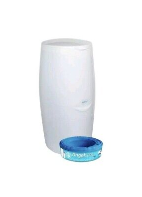 Angelcare Nappy Disposal System Bin Including 1 Refill Cassette