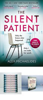 BEST The Silent Patient The Sunday Times Bestselling Thriller Review Ab UK STOCK