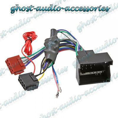 Audi A4 Amplified Quadlock ISO Radio Stereo harness adapter wiring connector