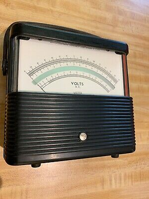 "Weston Model 901 DC Volt Meter ""Vintage Unit"""