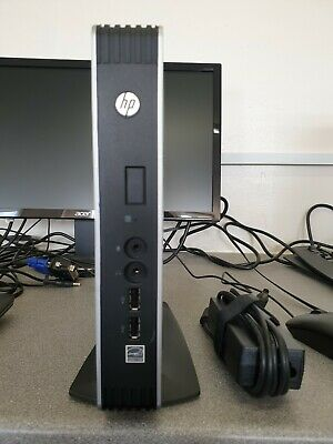 Hp T610 Thin Client With Psu & Stand ( 16Gb / 4Gb / Wes 7 Pro ) Re-Imaged