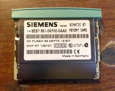 Siemens Memory Card 6ES7 951-0KF00-0AA0 - Offers Accepted