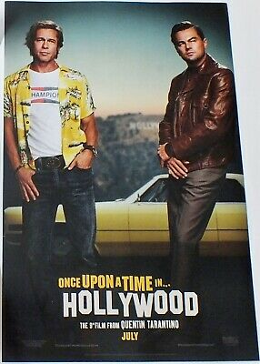 "Once Upon a Time in Hollywood (2019) Original Promo Screening Posters 11.3"" x17"""