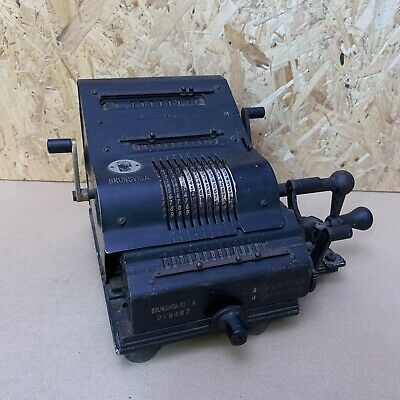 Antique Brunsviga 13ZK Mechanical Pinwheel Calculator Abacus - Germany