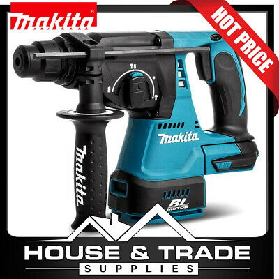 Makita Rotary Hammer 18V Mobile Brushless 24mm SDS Plus Bare Tool DHR242Z