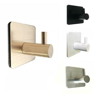 Aluminum Adhesive Wall Hook Heavy Duty Stainless Steel
