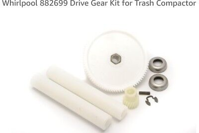 Whirlpool 882699 Drive Gear Kit for Trash Compactor