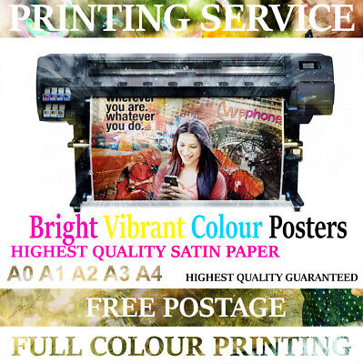 posters Personalised Photo prints Cheap POSTER PRINTING Print A0 A1 A2 A3 A4