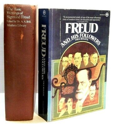 The Basic Writings of Sigmund Freud (Brill) & Freud and His Followers (Roazen)