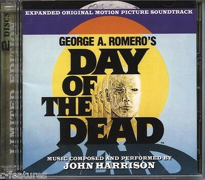 DAY OF THE DEAD John Harrison 2-CD La-La Land SOUNDTRACK George Romero Ltd NEW!