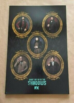 Sdcc 2019 Promo Poster From Fox Booth What We Do In The Shadows Size 12 X 18 In