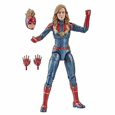 2019 Legends Captain Marvel 7'' Action Figure The Avengers Cosplay Model Toys US
