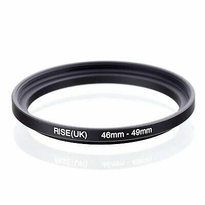 46-49 46mm to 49mm 46-49mm Matel Step-up Stepping Up Ring Filter Adapter