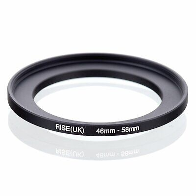 46-58 46mm to 58mm 46-58mm Matel Step-up Stepping Up Ring Filter Adapter