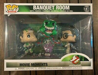 Funko POP!  Ghostbusters: Banquet Room Movie Moments #730 slimer venkman egon