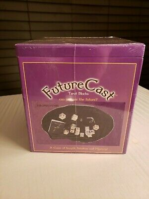 Tarot Blocks - Di-Cerot - Divination Fortune Telling Kit - 2004 NIB Future Cast