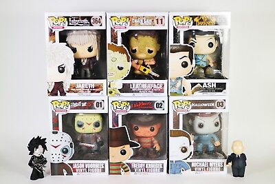 HORROR FUNKO POP Lot LABYRINTH / Jason Voorhees / Leatherface & More