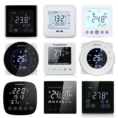 Smart WiFi Heating Thermostat Programmable Touch Screen Temperature Controller