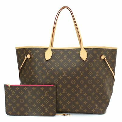 80f0d9f8b8a BRAND NEW LOUIS Vuitton Neverfull Mm Monogram Canvas Tote Shoulder ...