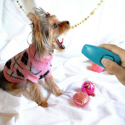 Pet Dog Clicker and Whistle Obedience Agility Puppy Behaviour Training Device