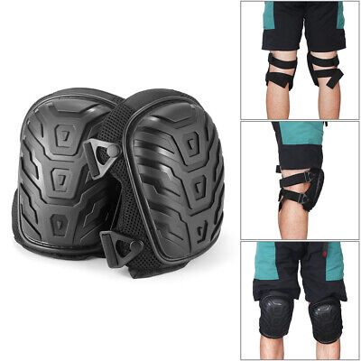 Heavy Duty Gel Filled Pro Knee Pads Protectors Safety Quick Release Work Trade