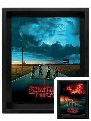 Stranger Things Mind Flayer Official HD 3D Lenticular Poster Picture Eleven