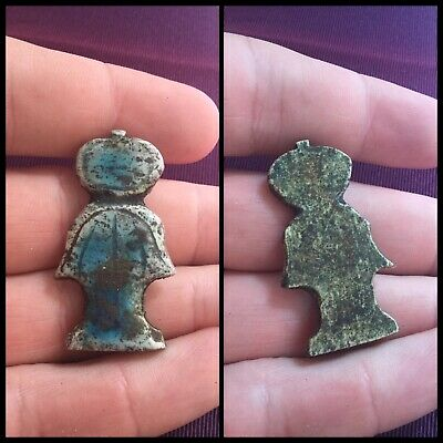 Rare ancient Egyptian amulet , 300 bc