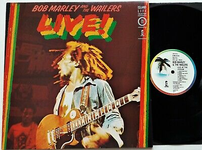 Bob Marley & The Wailers Live! LP 1986 UK Reissue Island Life Collection EX+/EX!