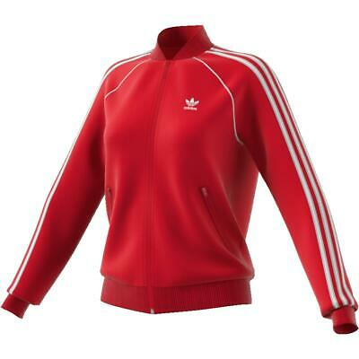 Adidas GIACCA DONNA JACKETS SST TT ED7588 RED STYLE MODA 2019 WOMAN GIRLS